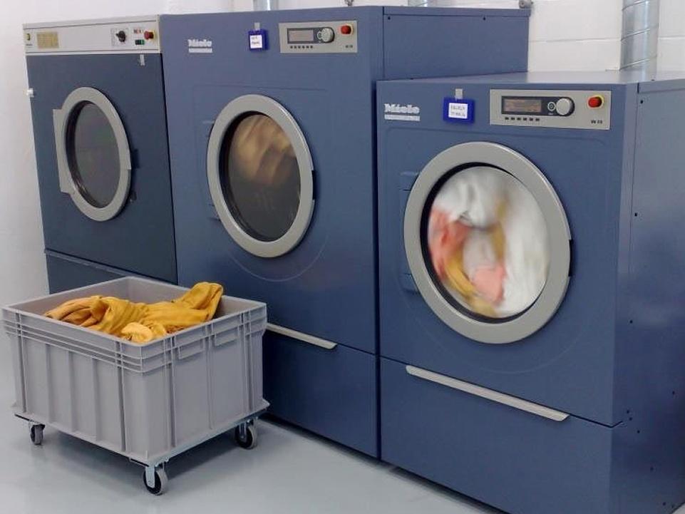 Montar una lavandería industrial