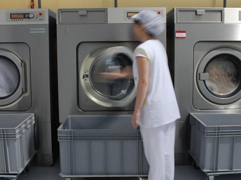montar una lavanderia