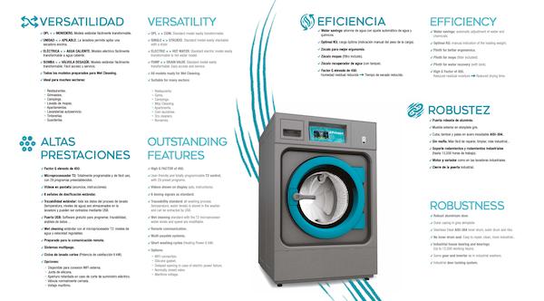 Lavadoras Primer Laundry - CLAT Lavanderías