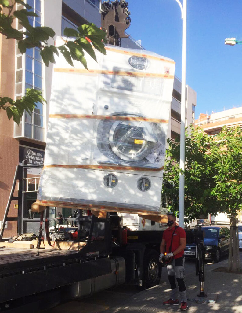 Máquina de Limpieza en Seco - Corte inglés Albacete